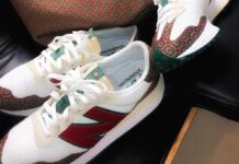Casablanca New Balance 327 Monogram
