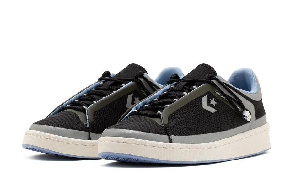 Converse Seam Tape Pro Leather Low Black Release Date Info