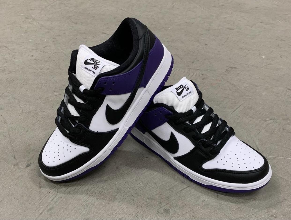 Court Purple Nike SB Dunk Low Release Info BQ6817-500