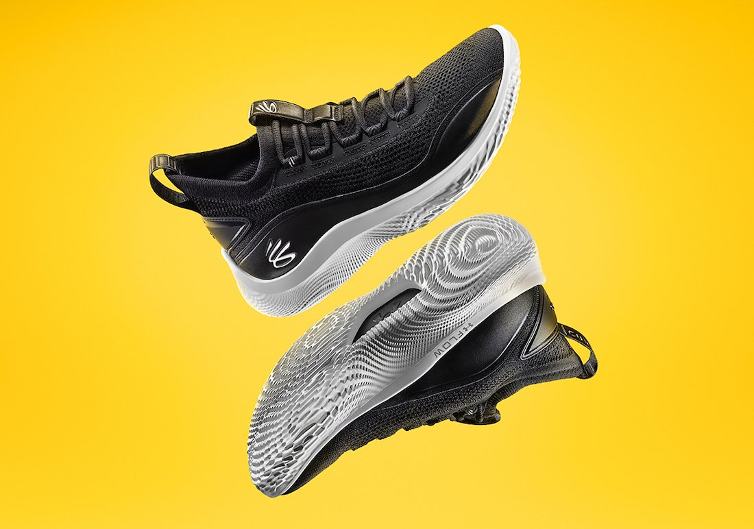 Curry Brand Curry Flow 8 Black White 3024032-001 Release Date Info