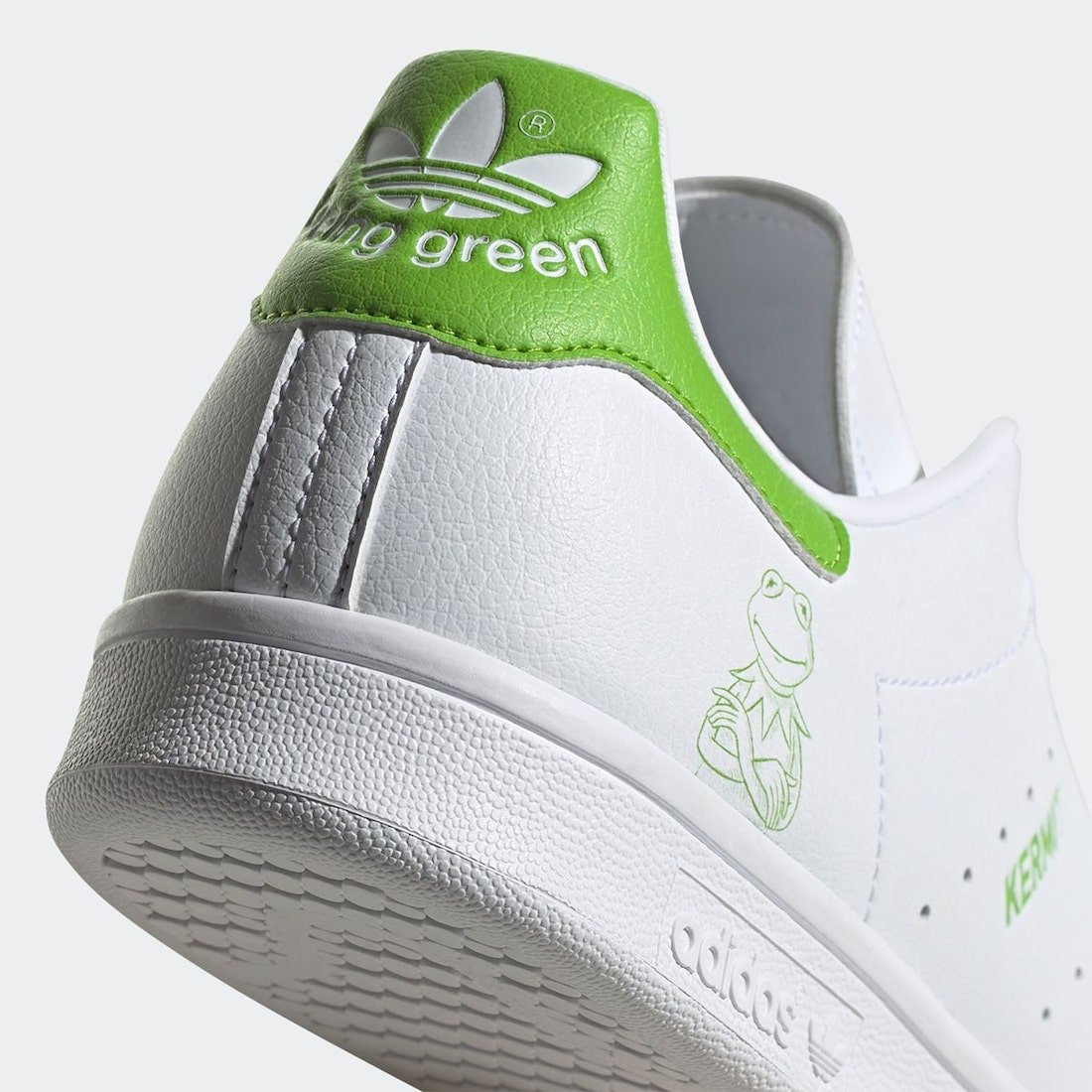 Kermit the Frog adidas Stan Smith FX5550 Release Date Info
