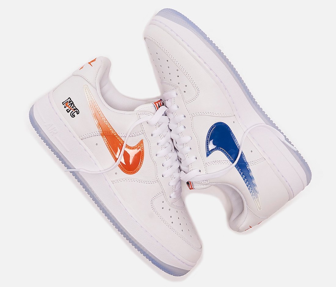 Kith Nike Air Force 1 Low New York Release Info Price