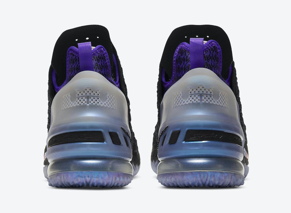 Kylian Mbappe Nike LeBron 18 GS DB7644-001 Release Date