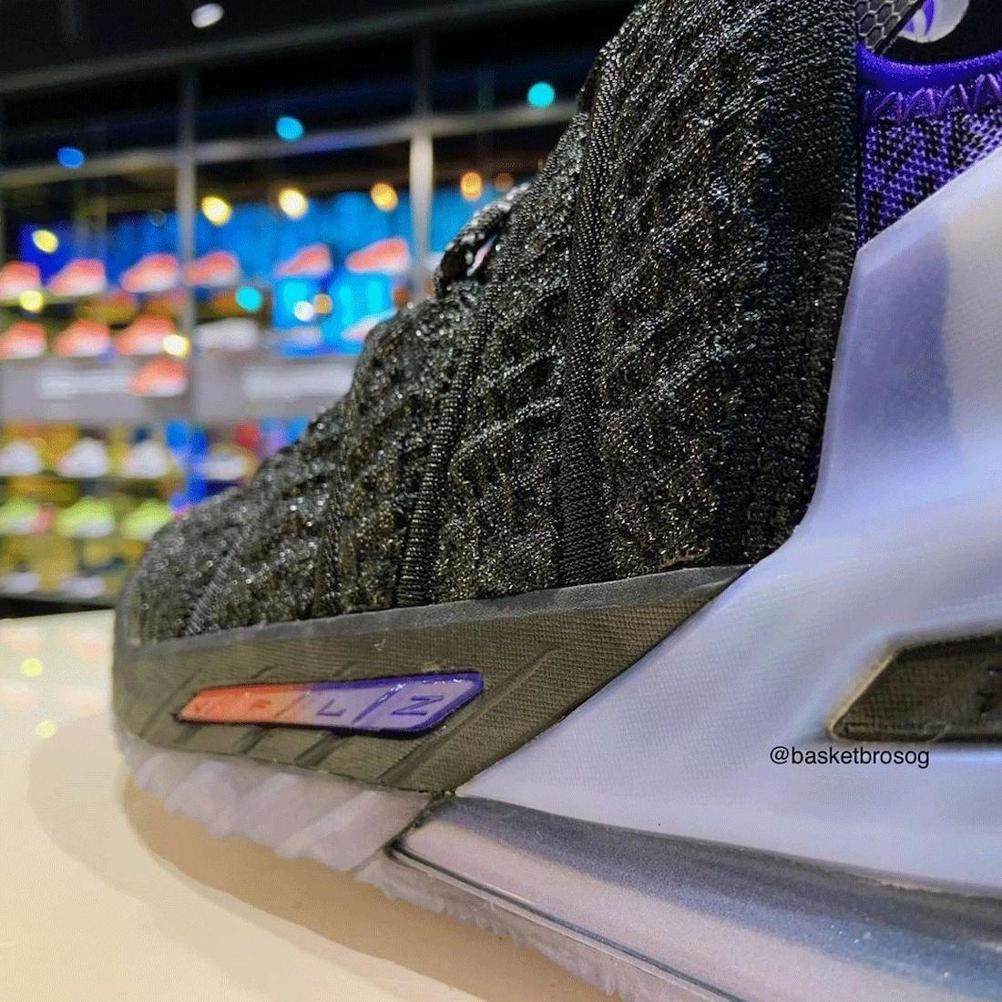 Kylian Mbappé Nike LeBron 18 Release Date Info