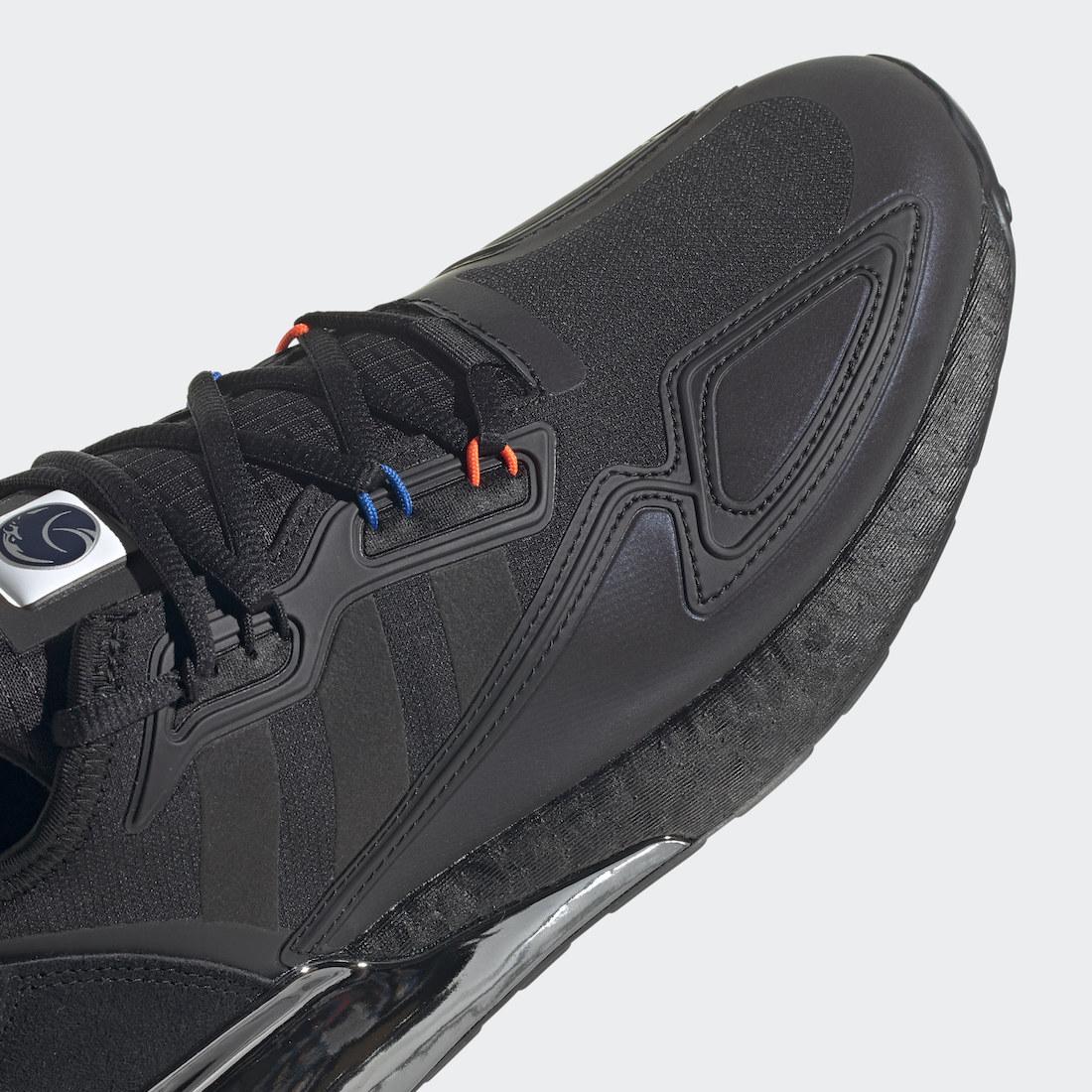 NASA adidas ZX 2K Boost Core Black H03247 Release Date Info