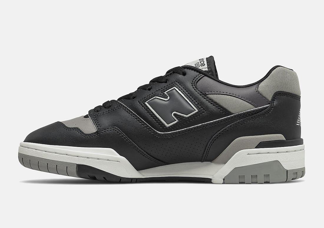 New Balance 550 Shadow Black Grey BB550SR1 Release Date Info