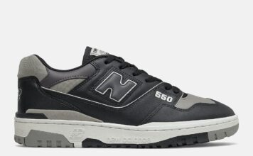 New Balance 550 Shadow Black Grey BB550SR1 Release Date Info