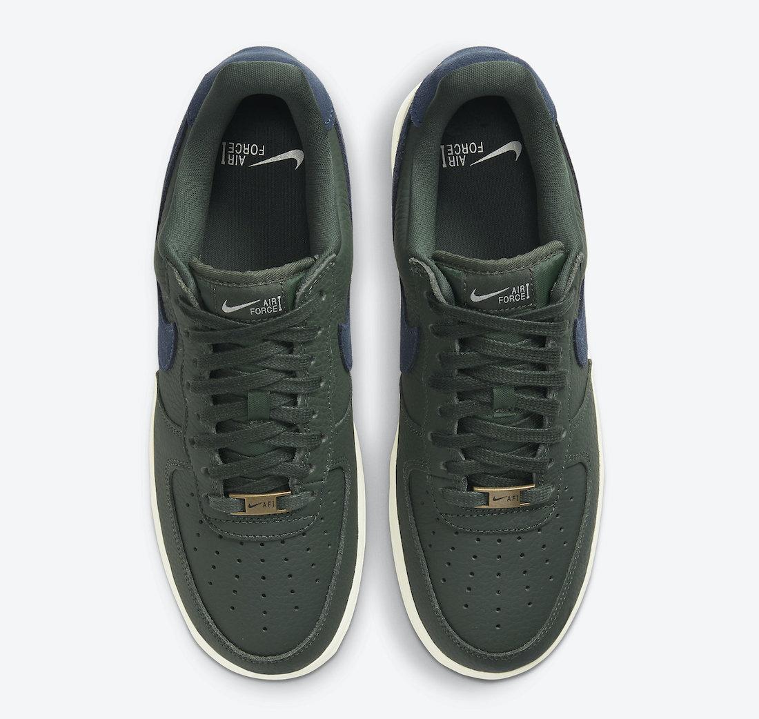 Nike Air Force 1 07 Craft Galactic Jade CV1755-300 Release Date Info