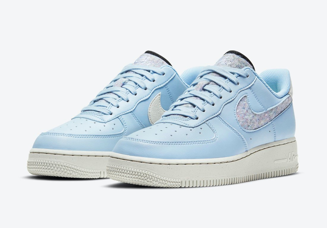 Nike Air Force 1 07 SE Light Armory Blue DA6682-400 Release Date Info