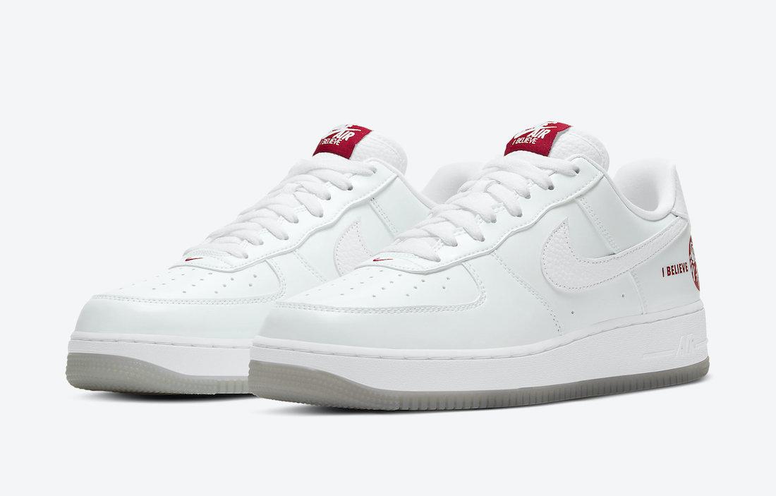 Nike Air Force 1 Low I Believe DD9941-100 Release Date Info