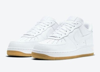 Nike Air Force 1 Low White Gum DJ2739-100 Release Date Info