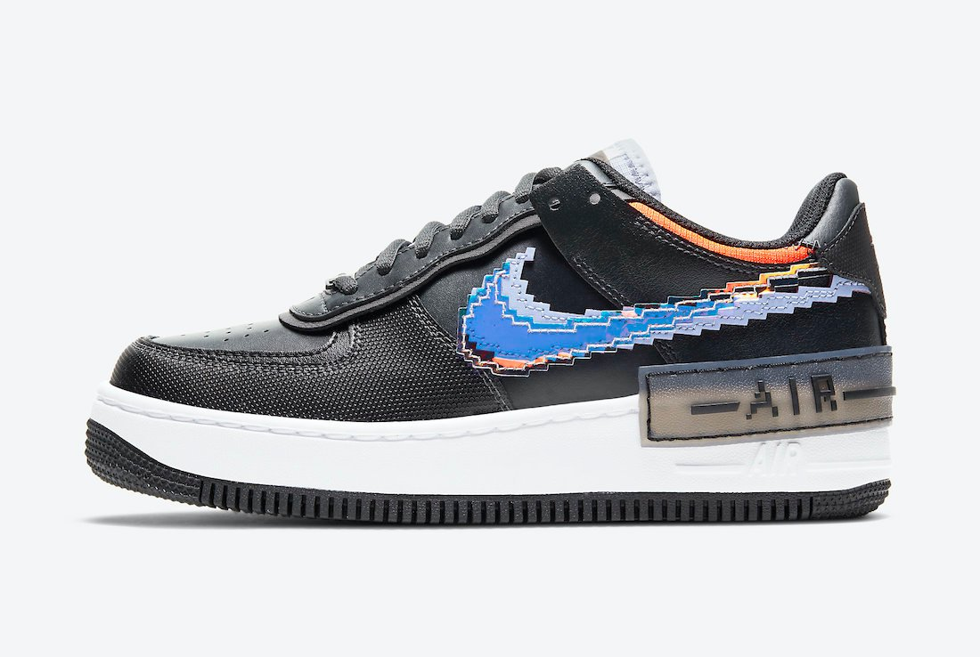 Nike Air Force 1 Shadow Pixel CV8480-001 Release Date Info