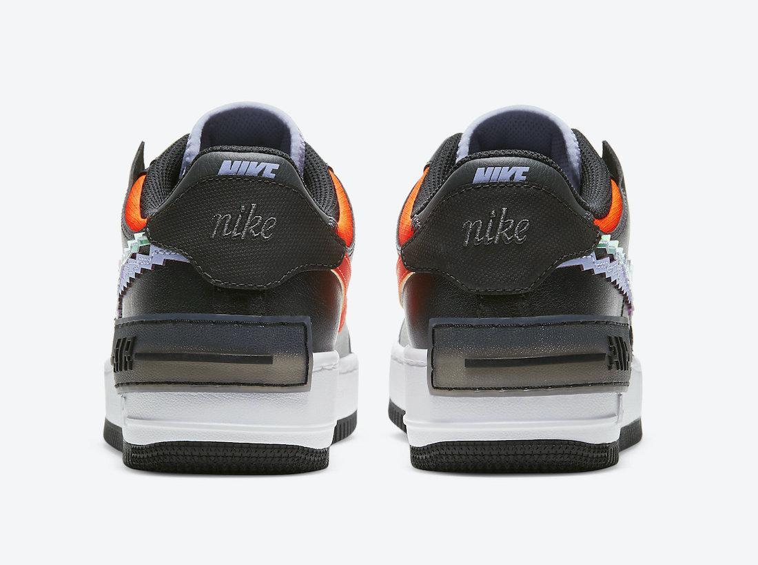 Nike Air Force 1 Shadow Pixel CV8480-001 Release Date Info