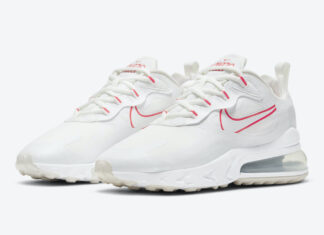 Nike Air Max 270 React White Pink CV8818-101 Release Date Info