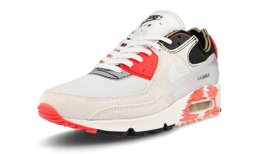 Nike Air Max 90 PRM Deconstructed DC7856-100 Release Date Info