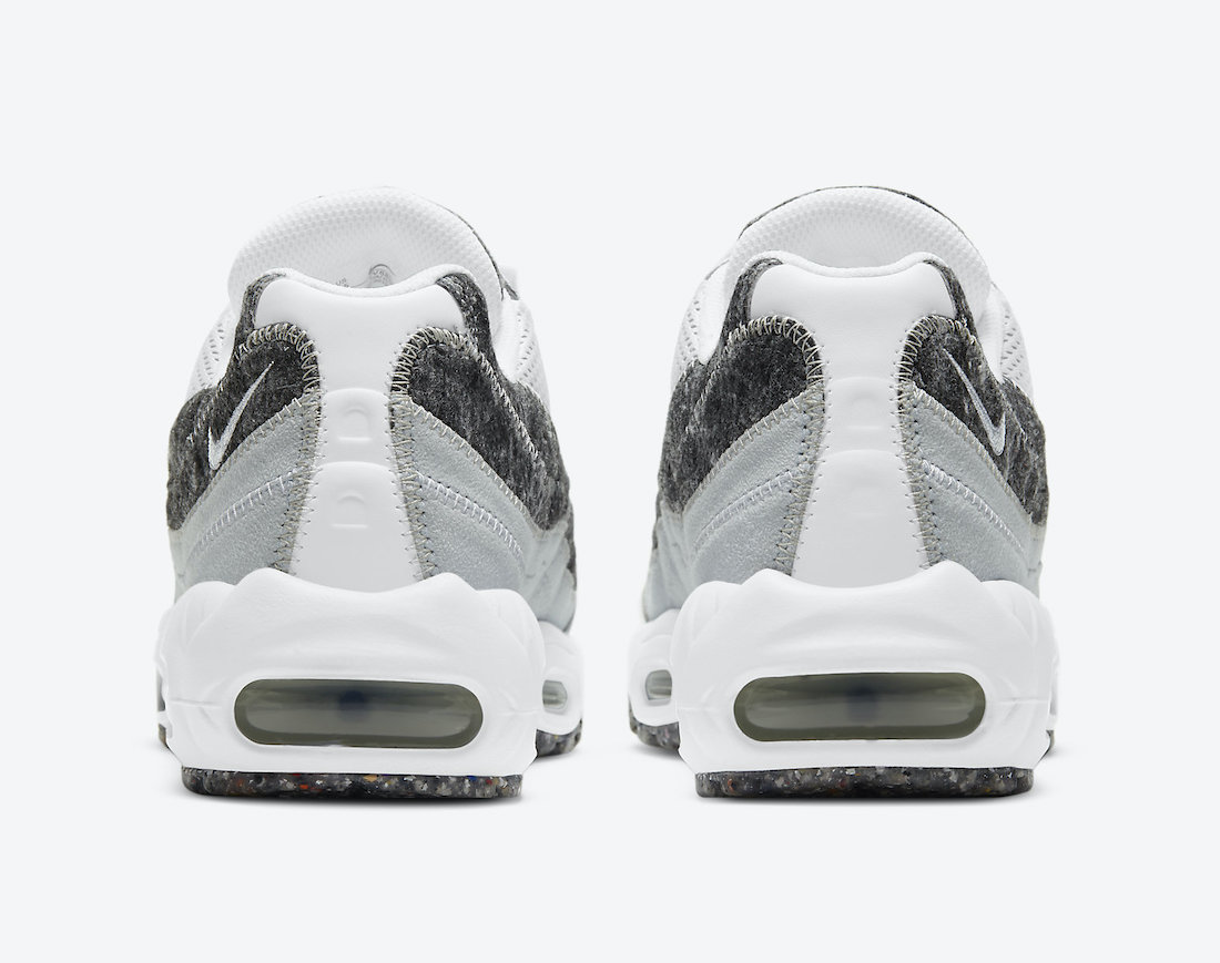 Nike Air Max 95 Crater White Grey CV8830-400 Release Date Info