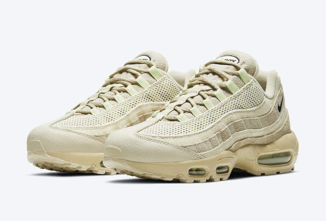 Nike Air Max 95 PRM Grain DH 4102-200 Release Date Info   SneakerFiles