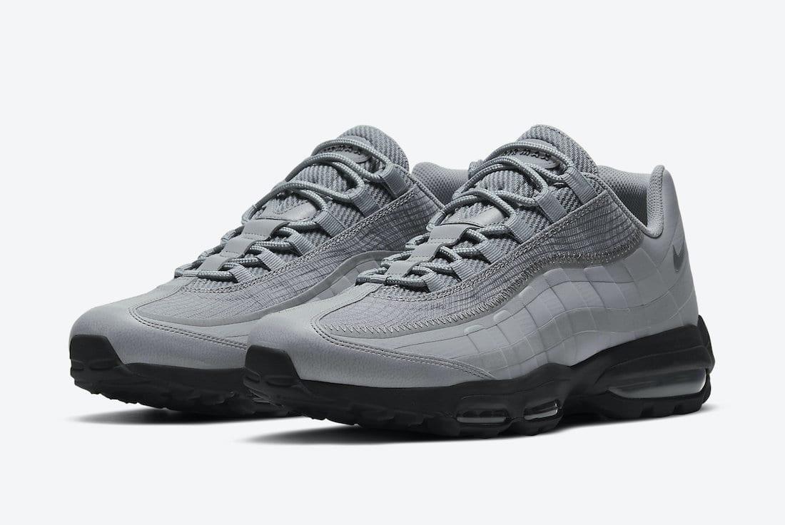 Nike Air Max 95 Ultra Grey Reflective DJ4284-002 Release Date Info ...