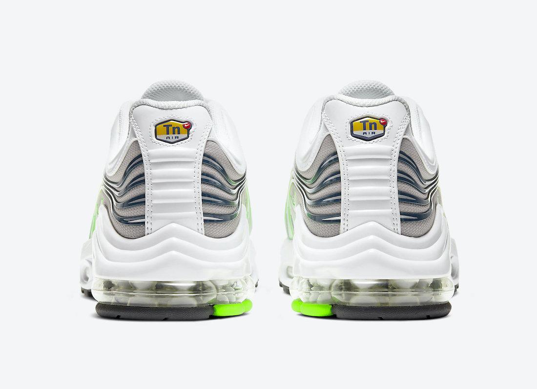 Nike Air Max Plus 2 II White Grey Neon Green CV8840-001 Release Date Info