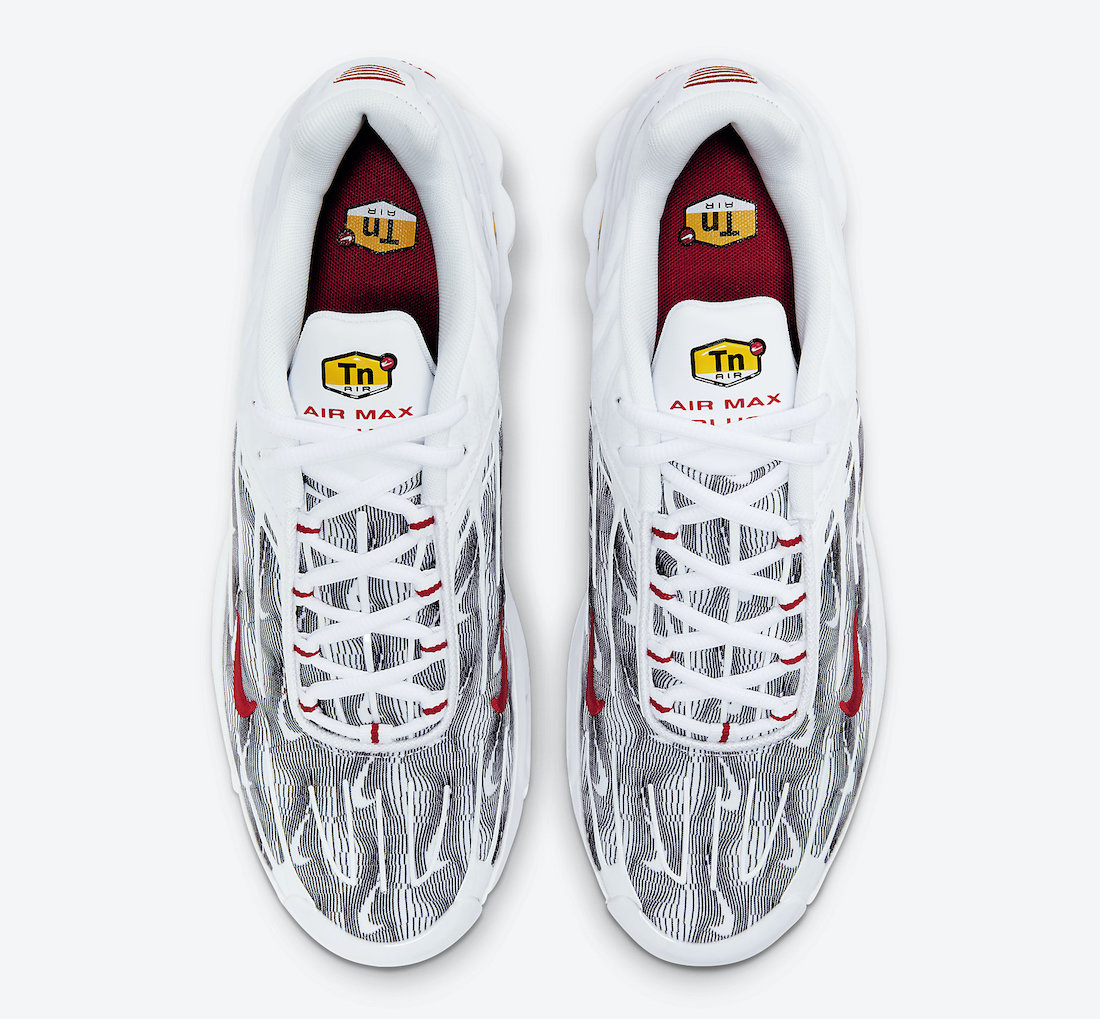 Nike Air Max Plus 3 Topography DH4107-100 Release Date Info