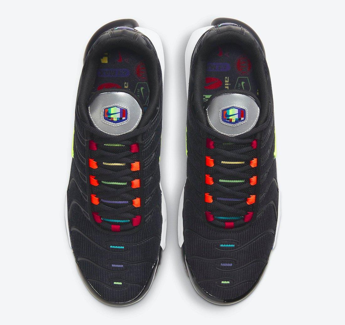 Nike Air Max Plus Black Corduroy DA5561-001 Release Date Info