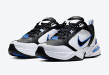 Nike Air Monarch 4 Black Royal 415445-002 Release Date Info