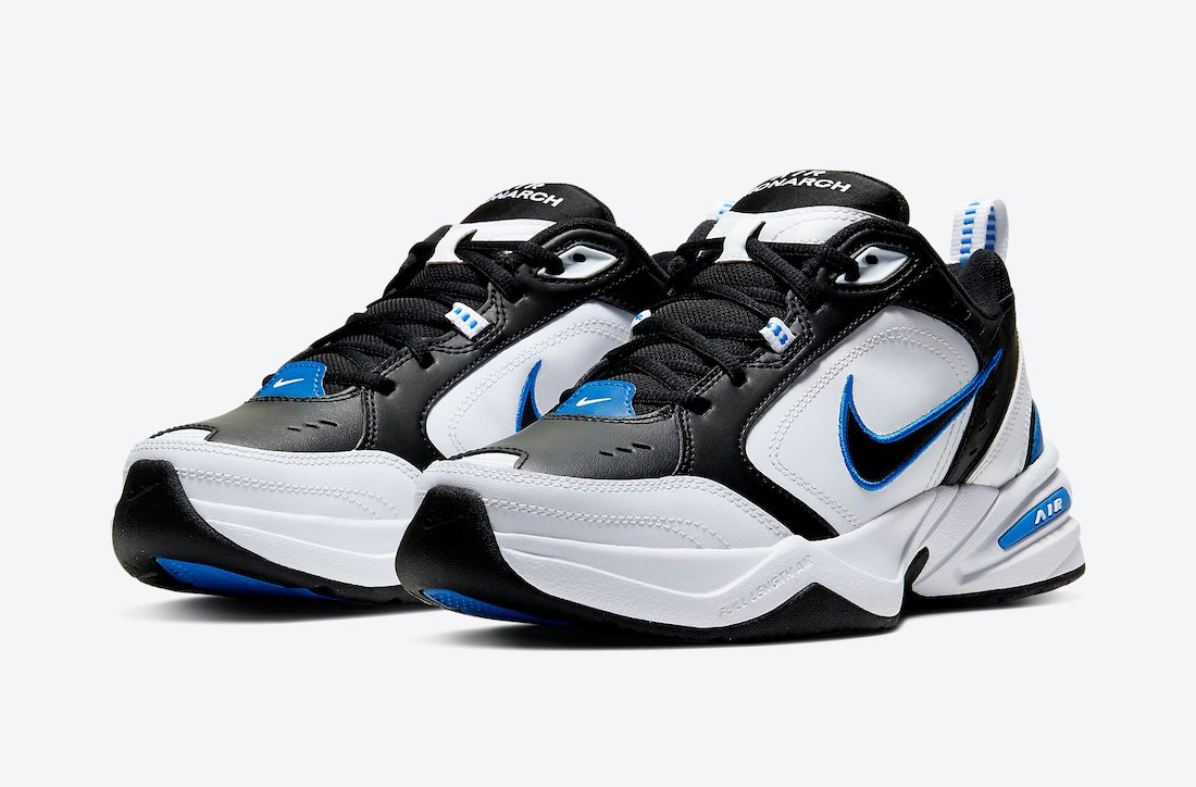 Nike Air Monarch 4 Black Royal 415445-002 Release Date Info