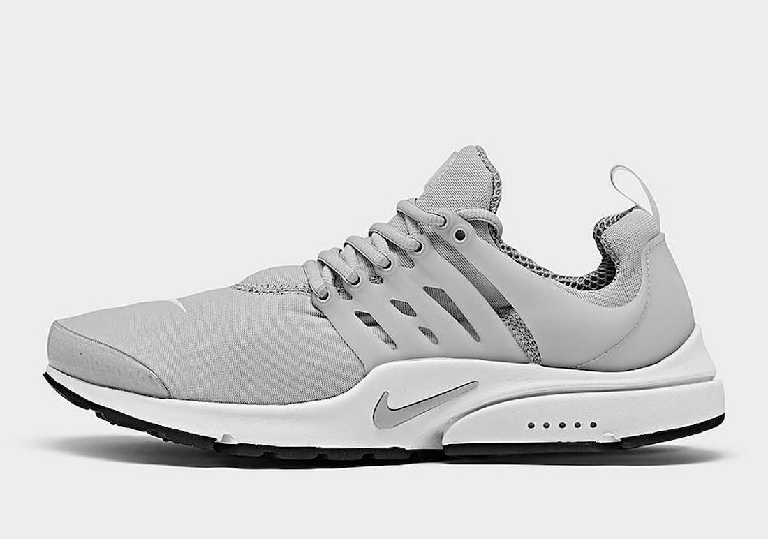 Nike Air Presto Light Smoke Grey CT3550-002 Release Date Info