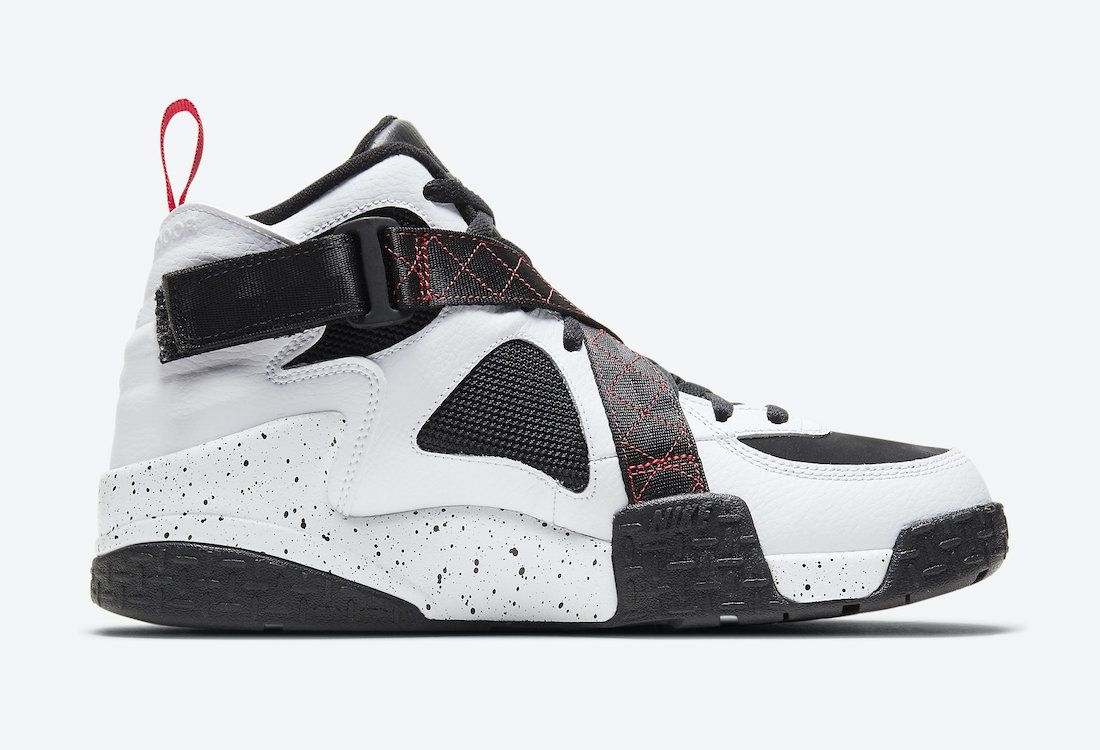 Nike Air Raid White Black Red DD8559-100 Release Date Info