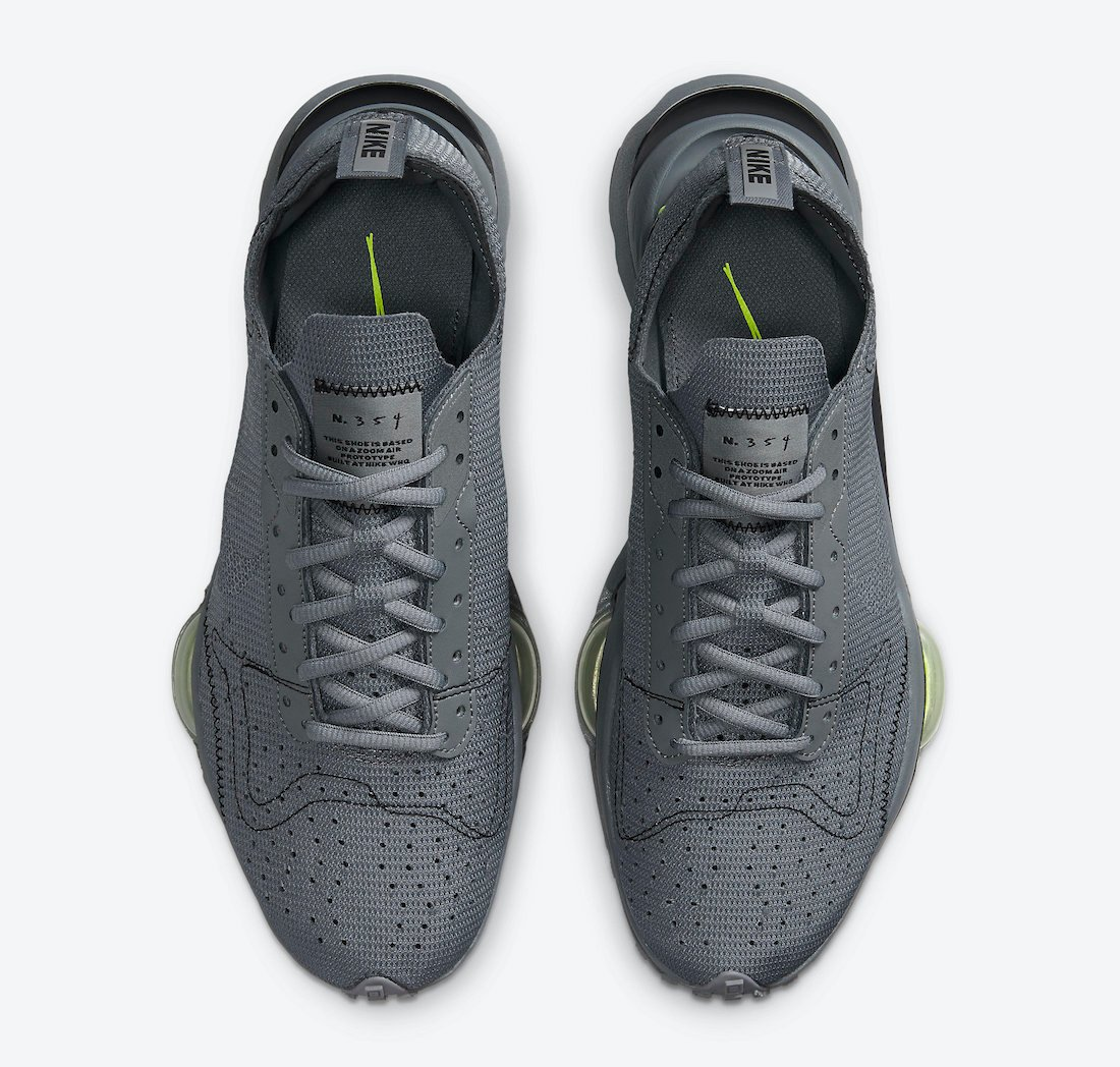 Nike Air Zoom Type Smoke Grey Volt DC9034-002 Release Date Info