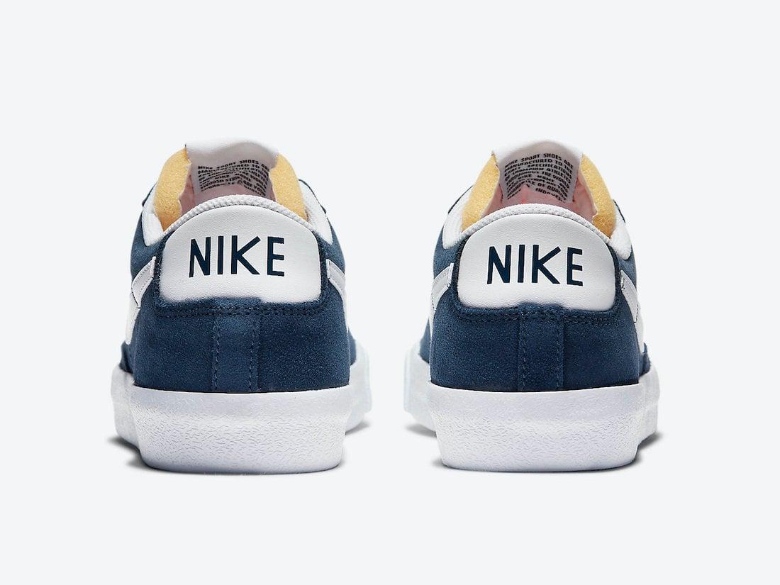 Nike Blazer Low Navy Suede DA7254-400 Release Date Info