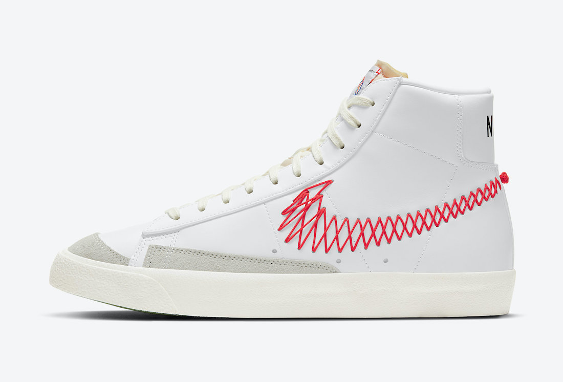 Nike Blazer Mid 77 Vintage Stitch DD8489-161 Release Date Info