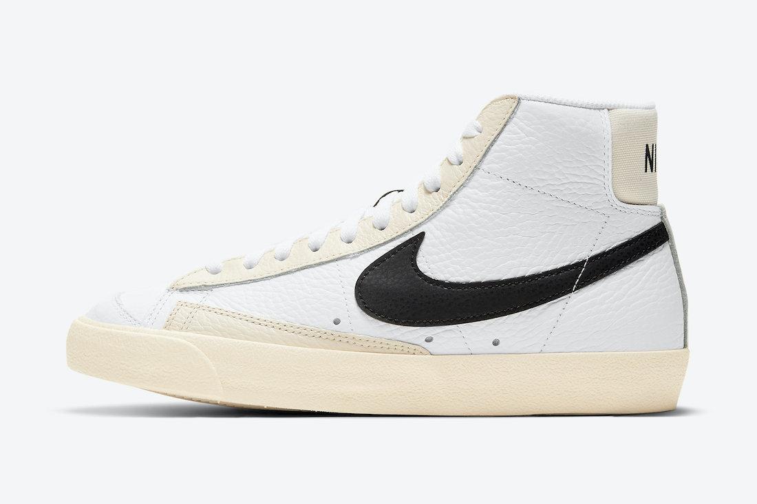Nike Blazer Mid Barcode DD6621-100 Release Date Info