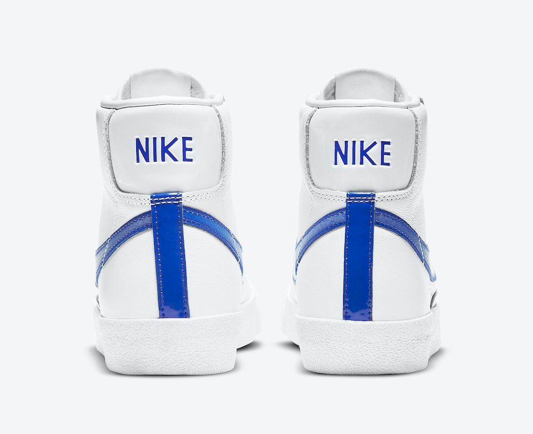 Nike Blazer Mid White Royal Blue DD9685-100 Release Date Info