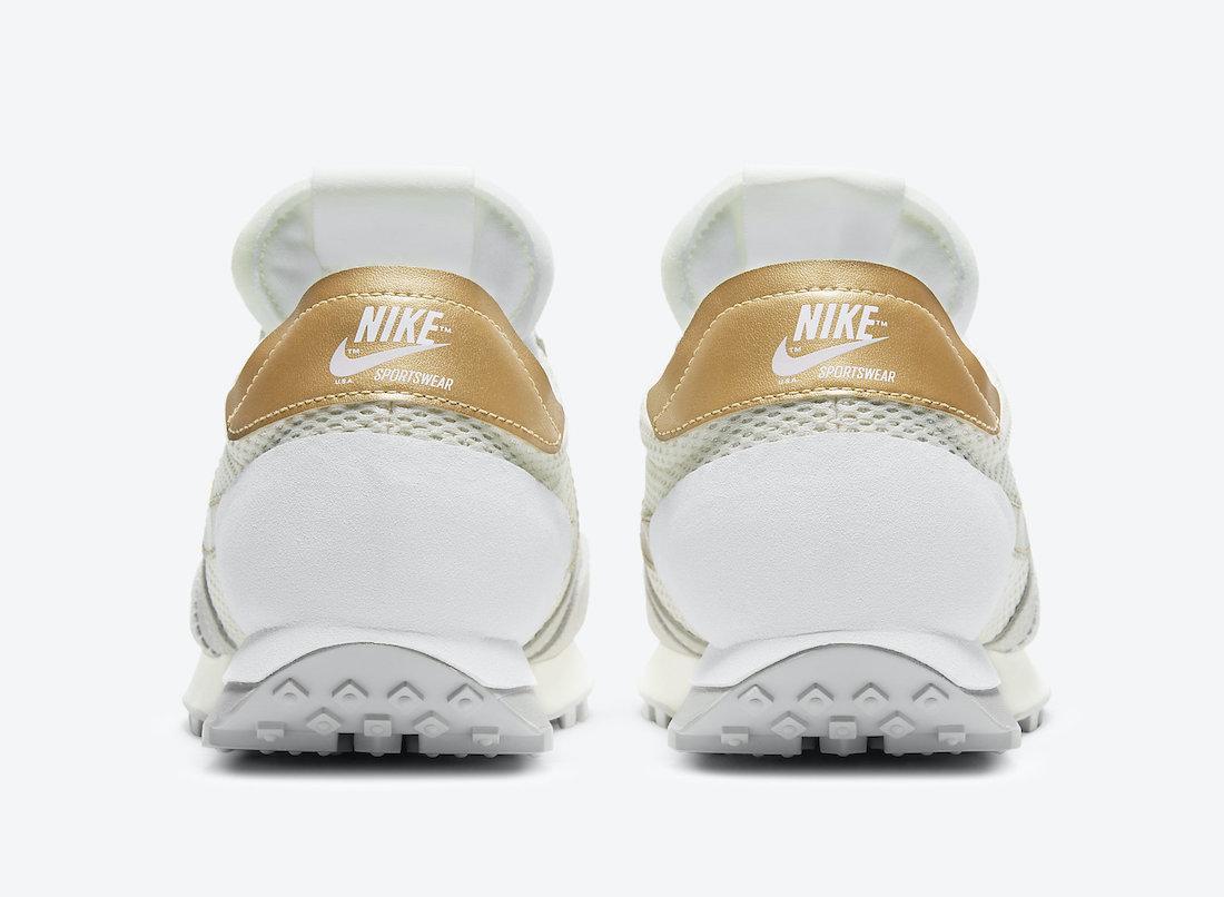 Nike Daybreak Type Pale Ivory Metallic Gold DD4853-110 Release Date Info