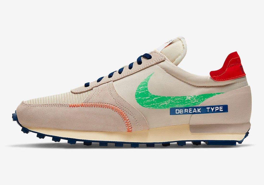 Nike Daybreak Type SE Label Maker DC8086-140 Release Date Info