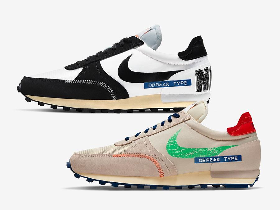 Nike Daybreak Type SE Label Maker DC8086-140 DC5227-121 Release Date Info