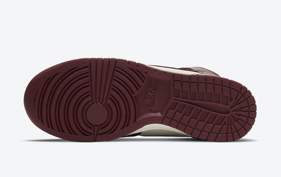 Nike Dunk High Team Red DD1869-101 Release Date
