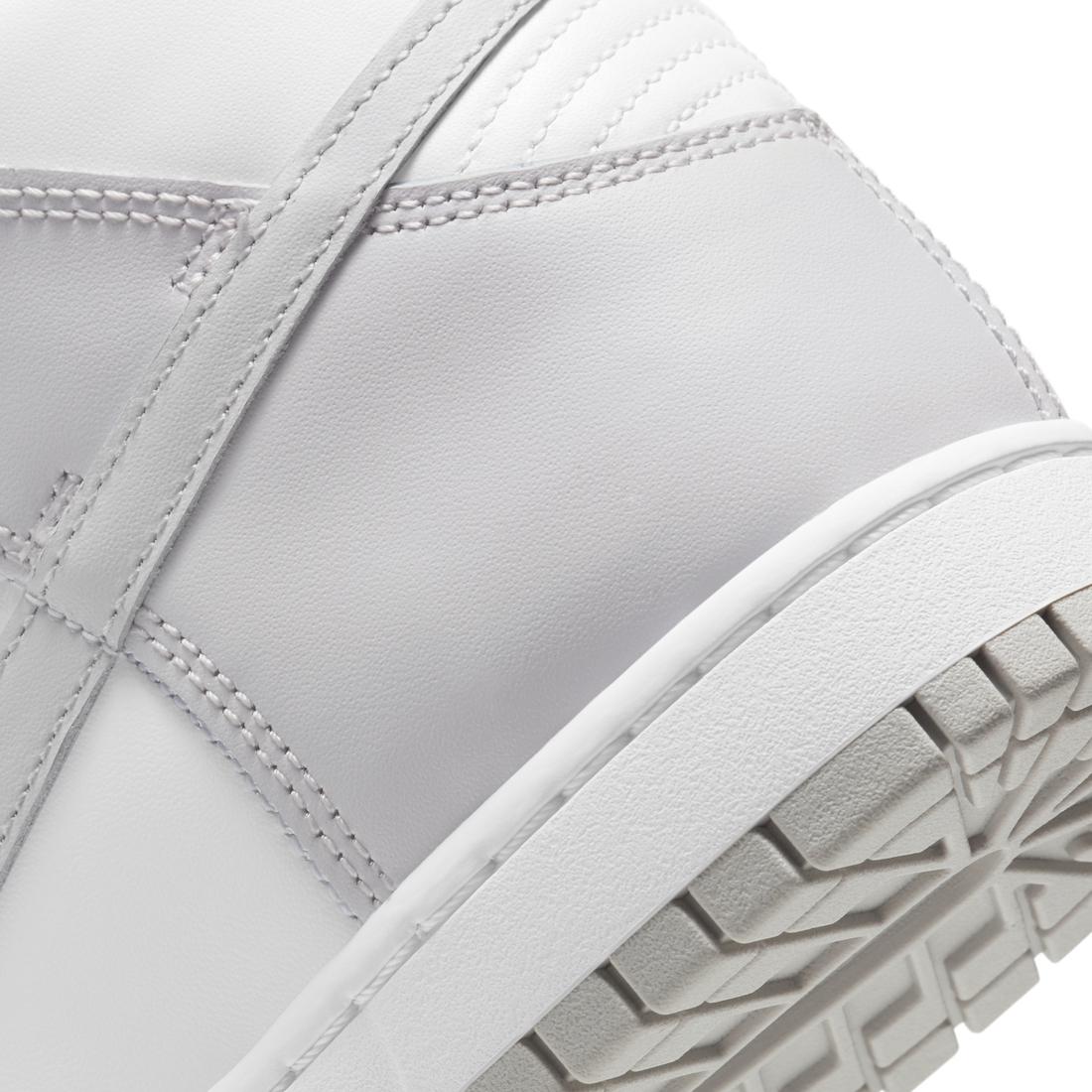 Nike Dunk High Vast Grey DD1399-100 Release Date Info