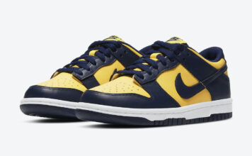 Nike Dunk Low Michigan Varsity Maize Release Date