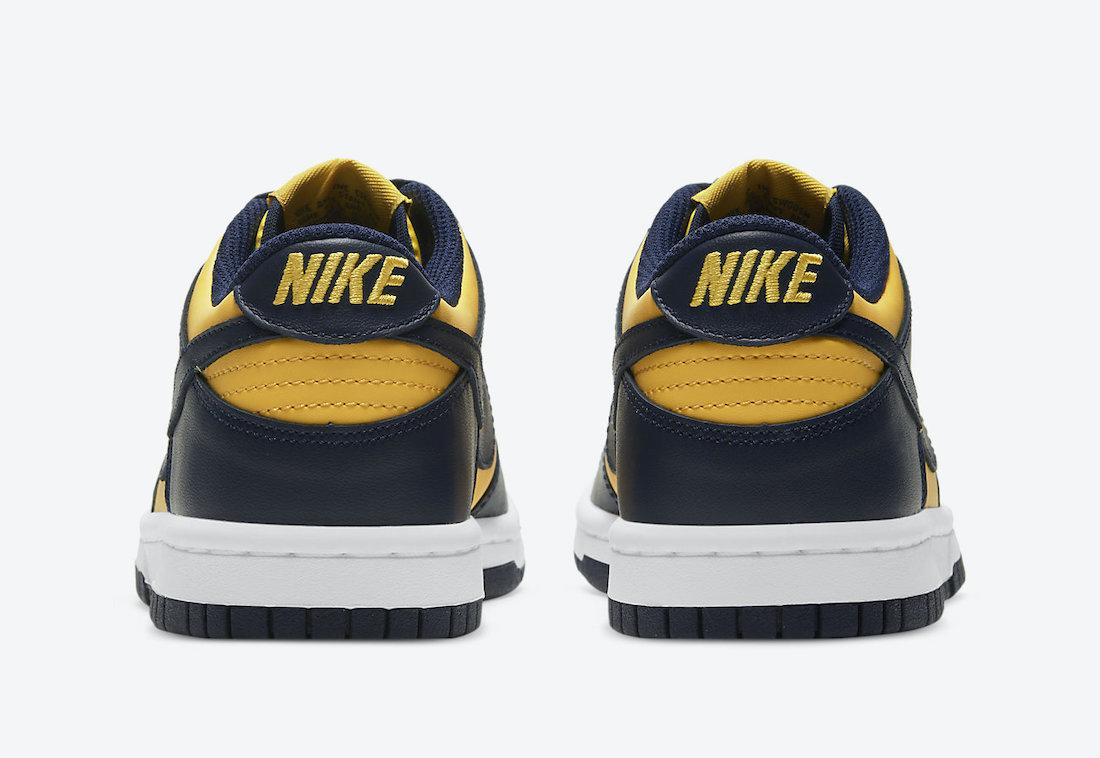 Nike Dunk Low Michigan Varsity Maize Release Date