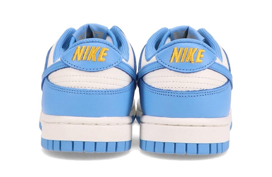 Nike Dunk Low Sail Coast University Gold DD1503-100 Release Date Info