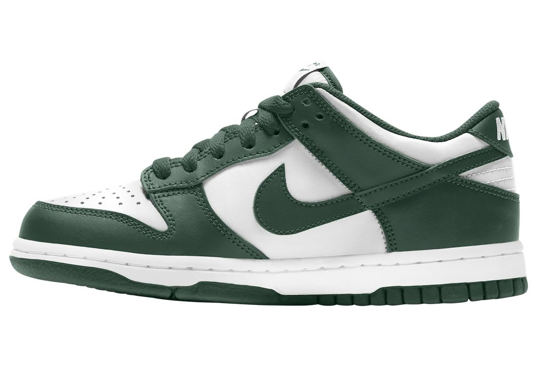 Nike Dunk Low White Green CW1590-102 Release Date Info