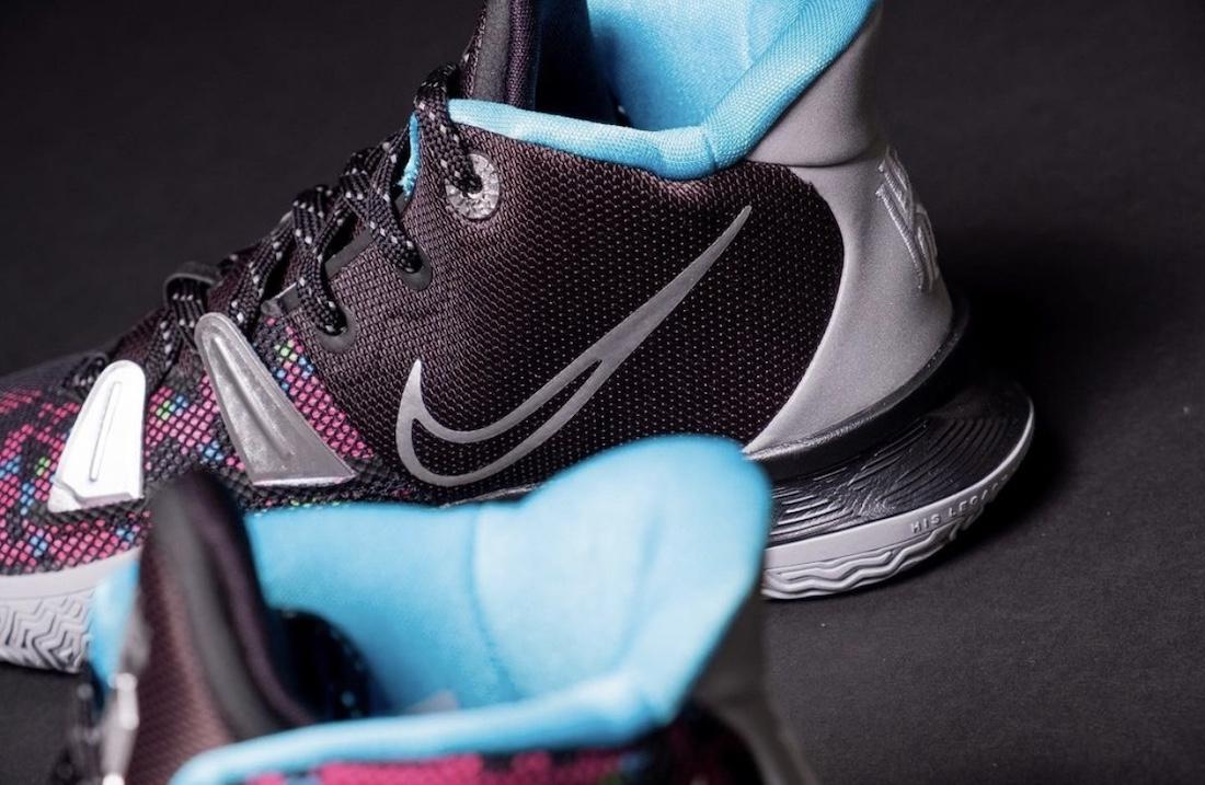 Nike Kyrie 7 GS Pixel Camo CT4080-008 Release Date Info
