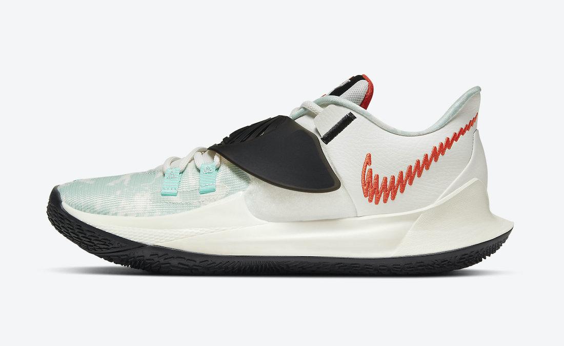 Nike Kyrie 3 Jade Black Sail CJ1286-101 Release Date Info