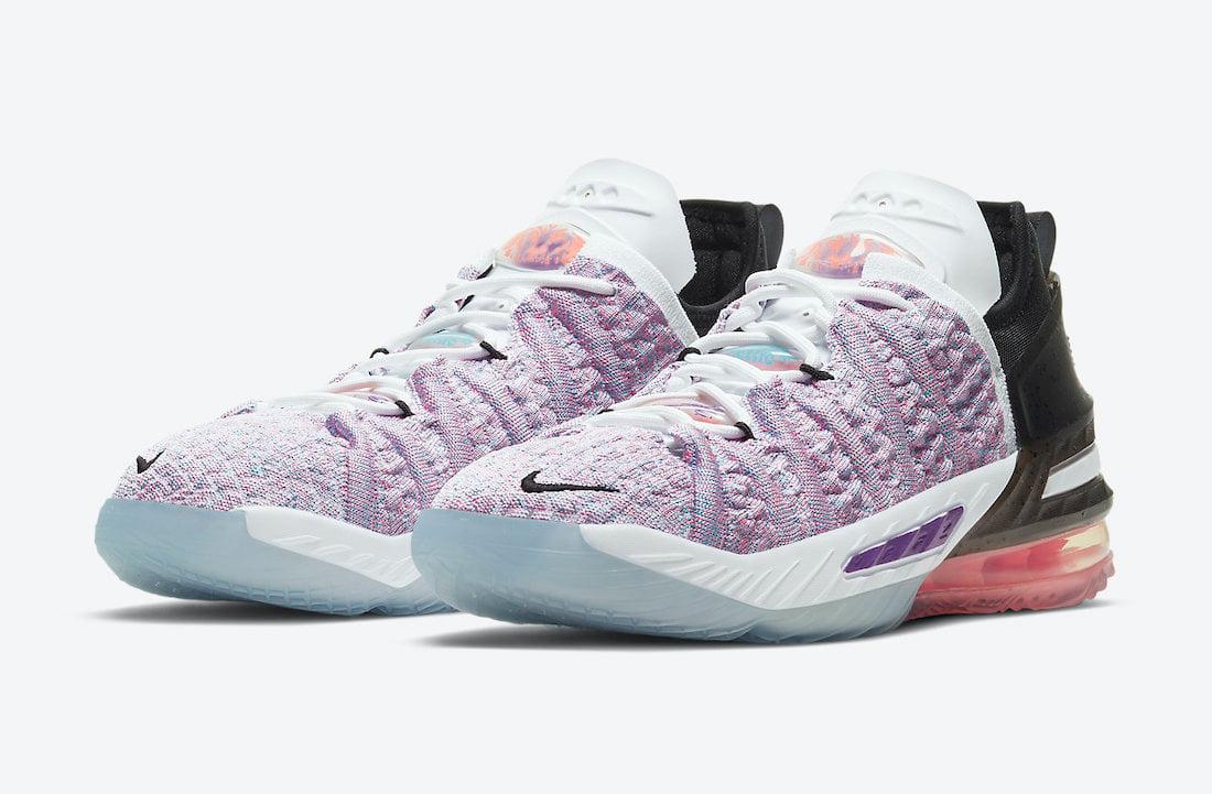 Nike LeBron 18 GS Multicolor CW2760-900 Release Date