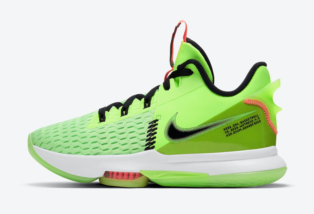 Nike LeBron Witness 5 Grinch CQ9381-300 Release Date Info