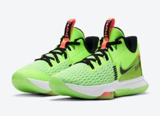 Nike LeBron Witness 5 Grinch CQ9381-300 Release Date Info