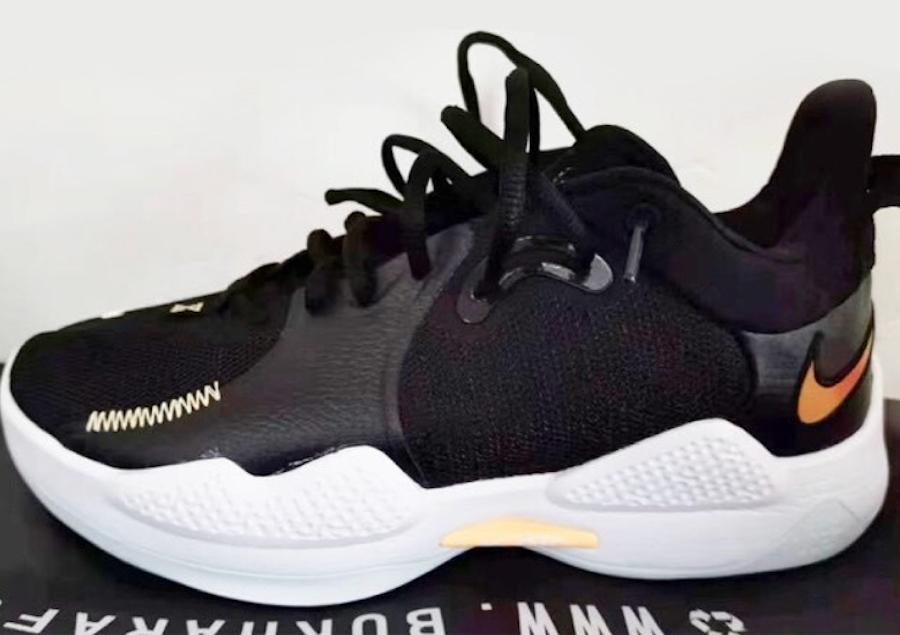 Nike PG 5 Black White Release Date Info