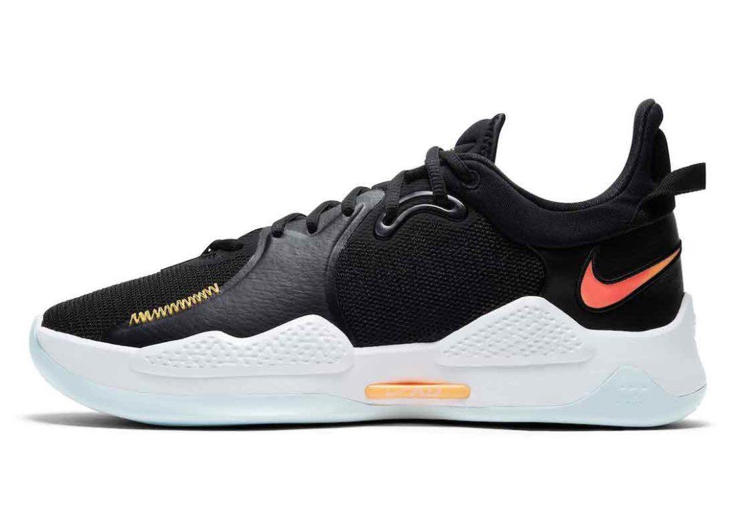 Nike PG 5 Black White